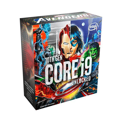INTEL CORE I9-10900K Marvel Avengers Edition